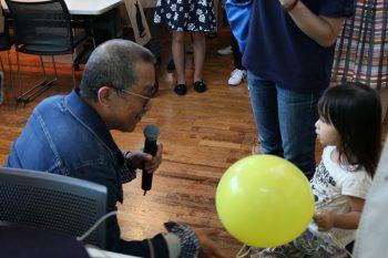 渡辺篤史さんには抽選会のプレゼンターも務めていただきました。