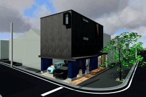 花田設計事務所|川尻の2世帯住宅