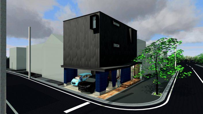 花田設計事務所 川尻の2世帯住宅